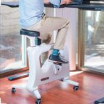 FLEXISPOT Adjustable Desk Exercise Bike