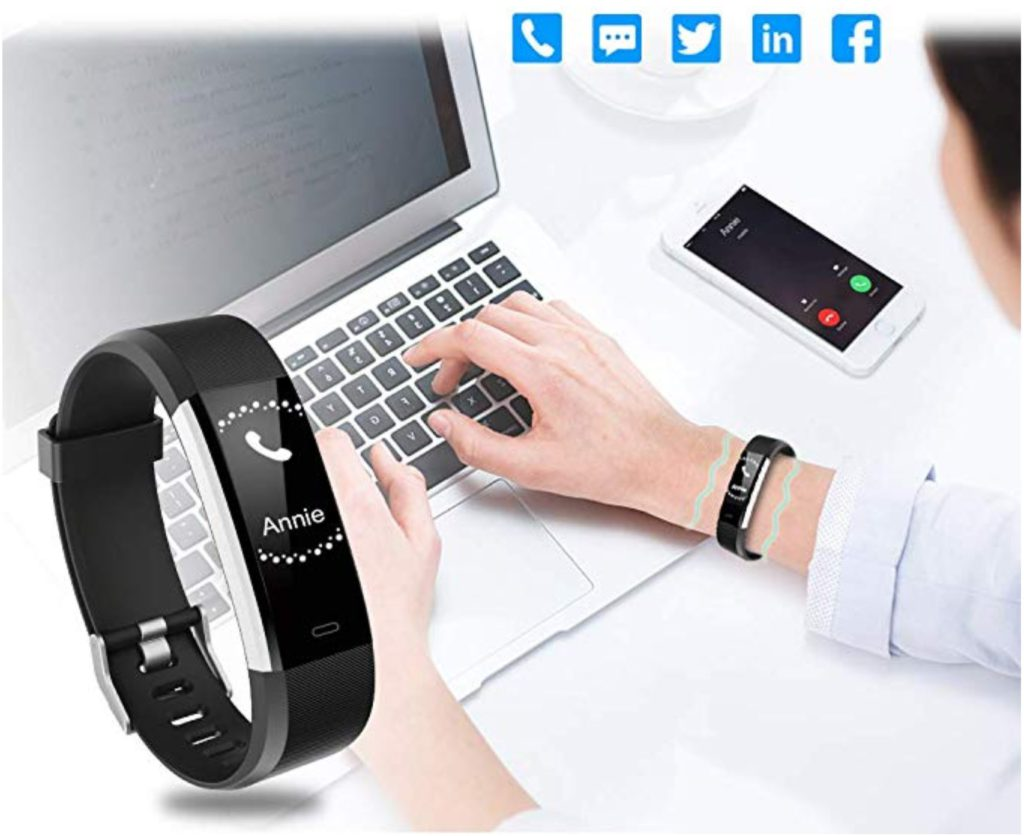 Letscom Fitness Tracker Lose Fat Eat Right